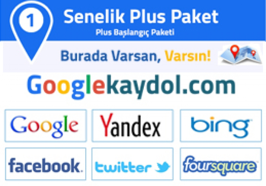 Google 1 Senelik Plus Paket