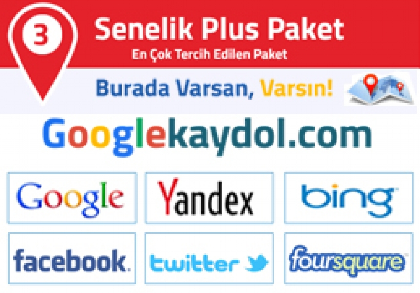 Google 3 Senelik Plus Paket